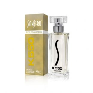 Sansiro Gold Series K550 Bayan - 50ml.