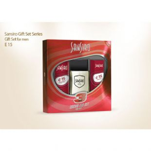 Sansiro E15 Erkek Cosmo Eco Set - 100ml. Edt. + 150ml. Deo. + 8ml. Edt.